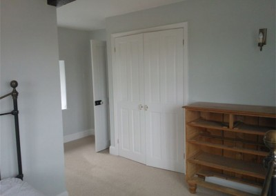Bedroom Complete using Laura Ashley Paints and Dulux Satinwood